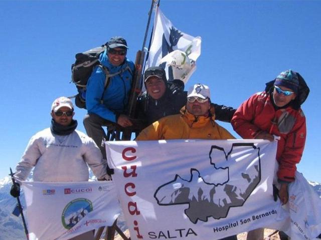 El INCUCAI está entre los organizadores de la expedición.