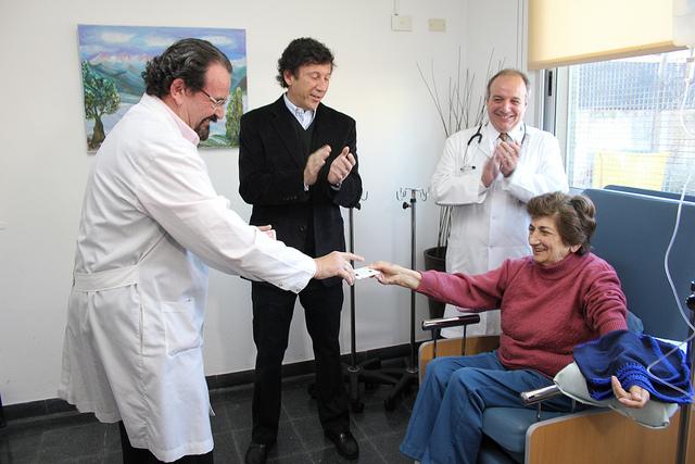 RISOTERAPIA. La risa suma durante la quimioterapia.
