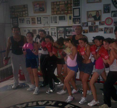 box femenino-----