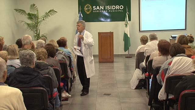 SIN ESTRÉS. López Rosetti enseña a reconocer los síntomas que desatan el estrés.