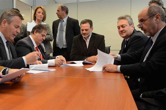 """Acuerdo entre el Instituto Biológico """"Tomas Perón"""" y la UNLP."""