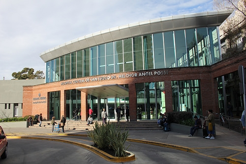 EN SAN ISIDRO. Hospital Central.