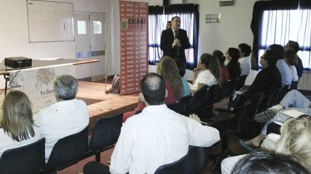 De la jornada participaron 50 profesionales de la salud.